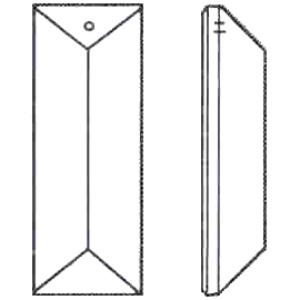 Picture of P23BB 63mm x 22mm Bar With One mounting Hole