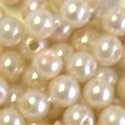 Picture of BD5R1  5mm PEARL opaque round plastic beads