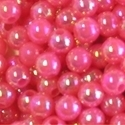 Picture of BD5RR4  5mm RAINBOW PINK round plastic beads