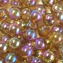 Picture of BD5RR10  5mm RAINBOW PURPLE round plastic beads