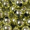 Picture of BD6RM3A  6mm METALLIC LIGHT GOLD round plastic beads