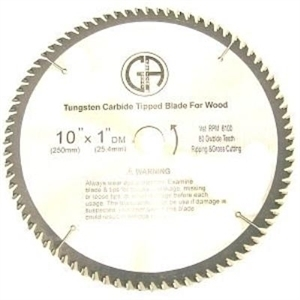 Picture of TCC180  10-in. - 80 Tooth - Tungsten Carbide Tipped WOOD Cabinet Saw Blade