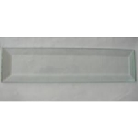 """Picture of B28 2"""" x 8"""" Rectangle Bevel"""