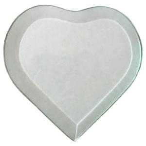 Picture of B5HTS 5x5.75 heart bevel
