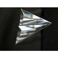 Picture of B47QD Pair of 1/4 of a  4 X 7 Diamond
