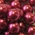 Picture of BD16R5B  16mm DARK RED opaque round plastic beads