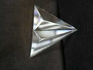 Picture of B35QD Pair of 1/4 of a  3 X 5 Diamond