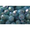 Picture of BD6FR7A  6mm RAINBOW LIGHT BLUE faceted shaped plastic beads