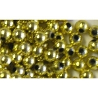 Picture of BD6RM3  6mm METALLIC GOLD round plastic beads