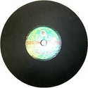 Picture of SAW7  Cut-Off Wheel for METAL. 16-in.  x  1/8-in. thickness x  1-in. hole diameter. Aluminium Oxide