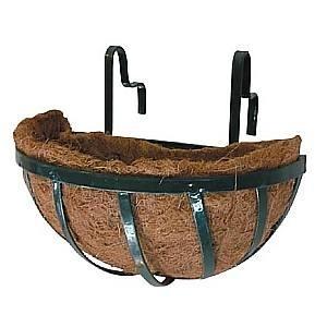 Picture of GARD16  6x6x12 wall mounted gardening pot, husk