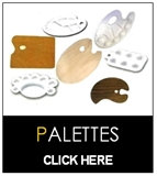 Palettes - Paint-Painter-Painting Tool - Wooden or Plastic