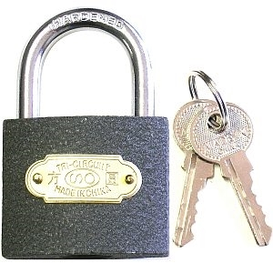 Picture of PL6 Thick Iron Padlock