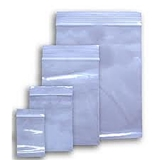 Zip-Lock Bags – Clear Plastic