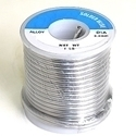 "Picture of S99NR  99.3/0.7 Lead Free solid wire - 1 lb Roll 1/8"" dia wire"