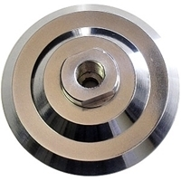 Picture of ADP19  Aluminum Adapter for 4in Polishing Pads.