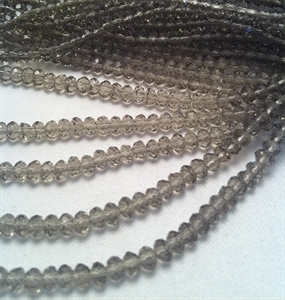 Picture of BD409  Crystal 4MM Bead - GREY