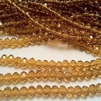 Picture of BD606 Crystal 6MM Bead - AMBER