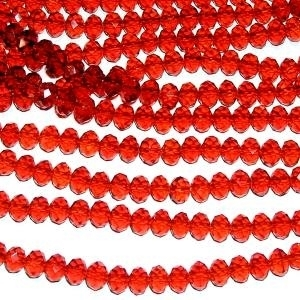 Picture of BD802 Crystal 8MM Bead - RED