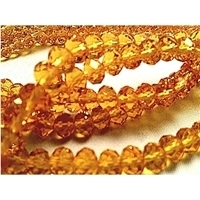Picture of BD609 Crystal 6MM Bead - GOLD