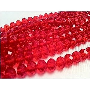 Picture of BD602 Crystal 6MM Bead - RED