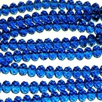 Picture of BD607 Crystal 6MM Bead - BLUE