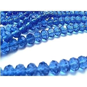 Picture of BD407 Crystal 4MM Bead - BLUE