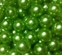 Picture of BD10R9A 10mm LIGHT GREEN opaque round plastic beads