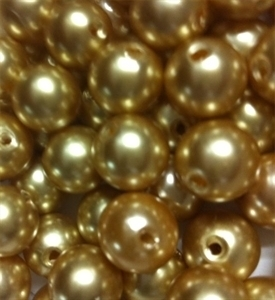 Picture of BD12R13  12mm brown opaque round plastic beads