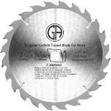 Carbide Saw Blades 7.25in for Table Saws, Circular Saws & Chop Saws