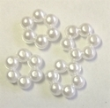 Picture of AC8F 8mm acrylic pearl beaded flower