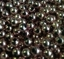 Picture of BD6RM4  6mm METALLIC PINK round plastic beads