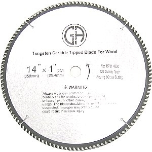 Picture of TC412  14-in. - 120 Tooth - TCT WOOD Saw Blade