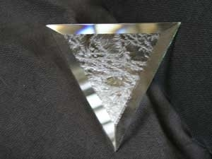Picture of B69TG 6x9 Triangle Glue Chip Bevels