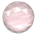 Picture of NJ211 Nordhauser Glass Jewel, Circle 25MM Pink
