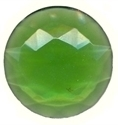 Picture of NJ220 Nordhauser Glass Jewel, Circle 30MM Green