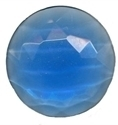 Picture of NJ223 Nordhauser Glass Jewel, Circle 30MM Blue