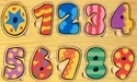 Picture of MGT4202 Wood Numbers Puzzle Set