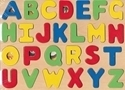 Picture of MGT4176 Alphabet Wood Letters Puzzle