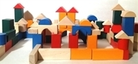 Picture of MGT5108 98pc Wood Blocks Set 30mm