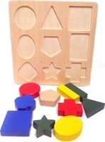 Picture of MGT5013 Wooden Block PUZZEL