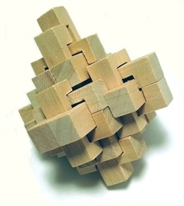 Picture of MGT0218  Wood Cube Puzzle