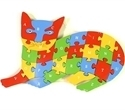 Picture of MGT4508 Cat Shaped Puzzle Set
