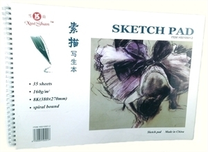 Picture of ART272  artist sketch pad 10.5x15 A-1