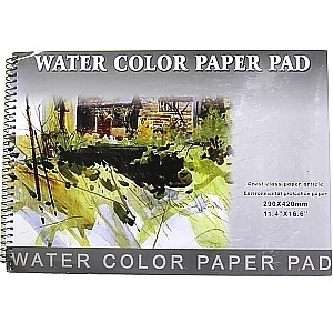 Picture of ART282  artist water color pad 11.4x16.5