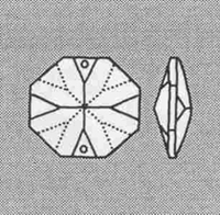 Picture of P2N 36mm Octagonal with 2 holes
