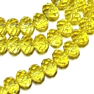 Picture of BD801 Crystal 8MM Bead - YELLOW