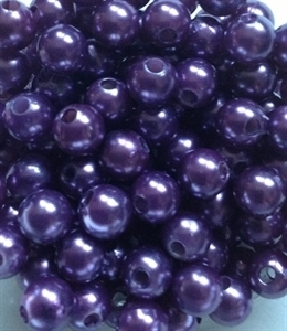 Picture of BD8R10   8mm PURPLE round plastic beads