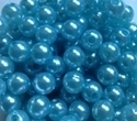 Picture of BD8R7A  8mm LIGHT BLUE opaque round plastic beads