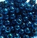 Picture of BD8RM7D  8mm METALLIC COBALT BLUE round plastic beads